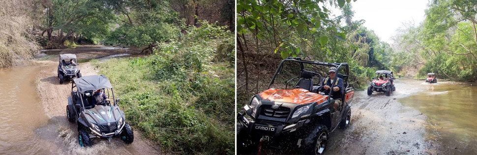 Our ATV & Buggy Jungle Tour Packages.