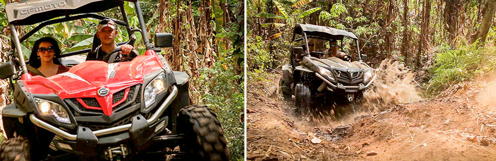 ATV and Buggy Tours in Chiang Mai, Thailand.