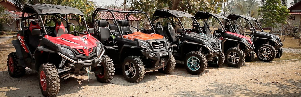 Our Quad Bike Tours in Chiang Mai.